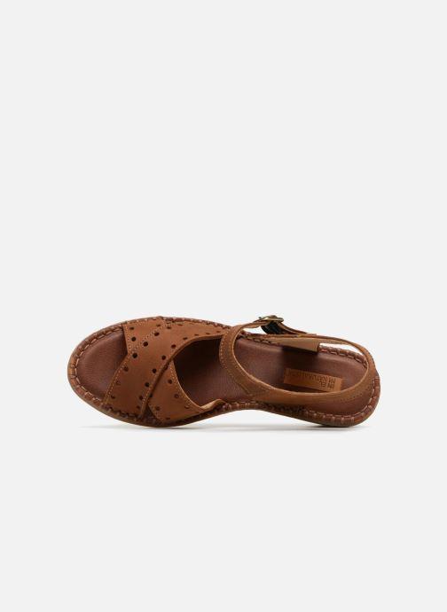 Sandali e scarpe aperte El Naturalista Aqua N5325 Marrone immagine sinistra