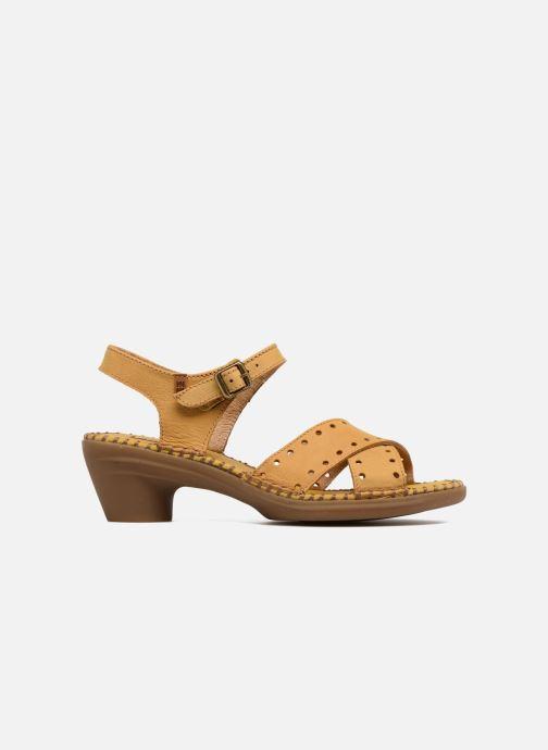 Sandales et nu-pieds El Naturalista Aqua N5325 Jaune vue derrière