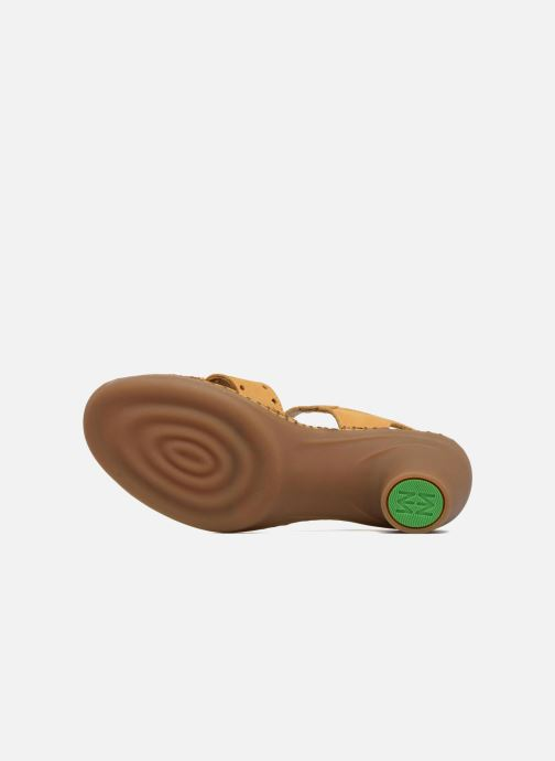 Sandales et nu-pieds El Naturalista Aqua N5325 Jaune vue haut