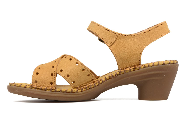 Sandales et nu-pieds El Naturalista Aqua N5325 Jaune vue face