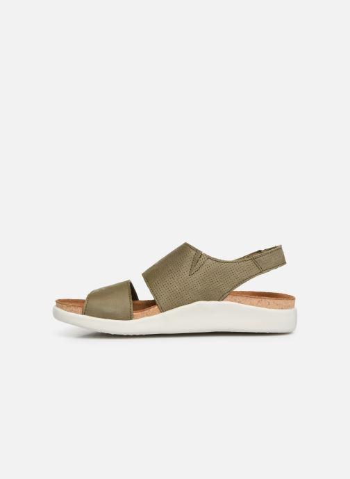 Sandales et nu-pieds El Naturalista Koi N5093 Vert vue face