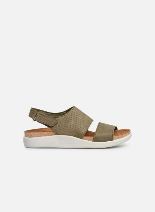 Sandales et nu-pieds El Naturalista Koi N5093 Vert vue derrière
