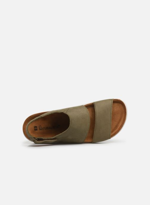 Sandales et nu-pieds El Naturalista Koi N5093 Vert vue gauche