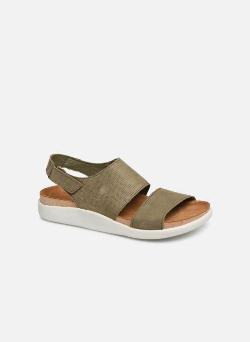 Sandales et nu-pieds El Naturalista Koi N5093 Vert vue détail/paire