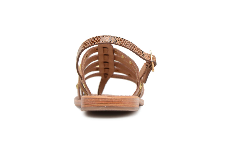 Sandales et nu-pieds Les Tropéziennes par M Belarbi Herclou Marron vue droite