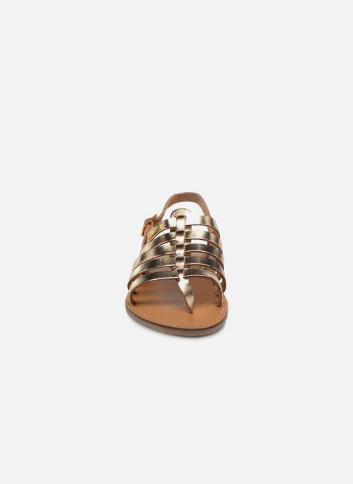 Sandals Les Tropéziennes par M Belarbi Herilo Bronze and Gold model view