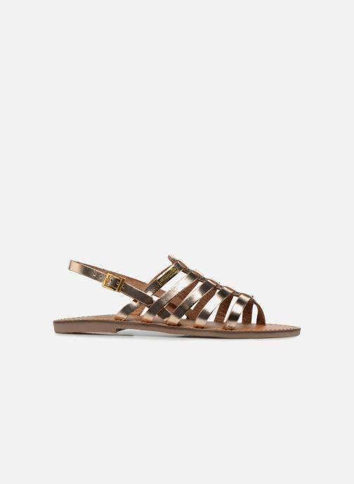 Sandals Les Tropéziennes par M Belarbi Herilo Bronze and Gold back view