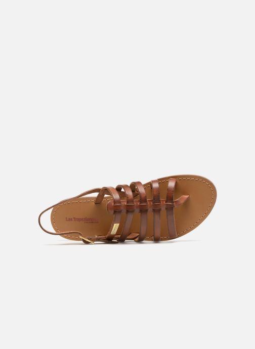 Sandales et nu-pieds Les Tropéziennes par M Belarbi Herilo Marron vue gauche