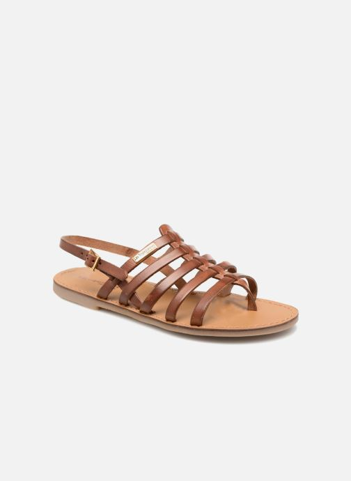 Sandales et nu-pieds Les Tropéziennes par M Belarbi Herilo Marron vue détail/paire