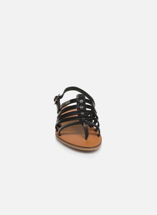 Sandales et nu-pieds Les Tropéziennes par M Belarbi Herilo Noir vue portées chaussures