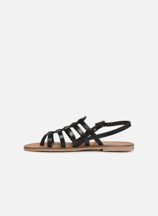 Sandales et nu-pieds Les Tropéziennes par M Belarbi Herilo Noir vue face