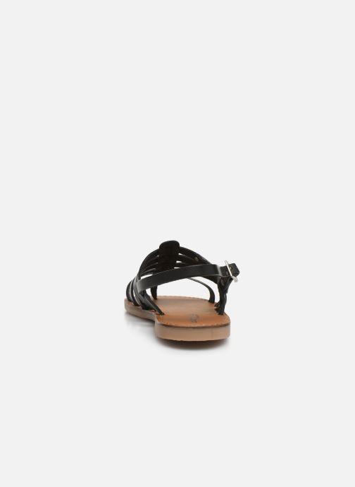 Sandales et nu-pieds Les Tropéziennes par M Belarbi Herilo Noir vue droite