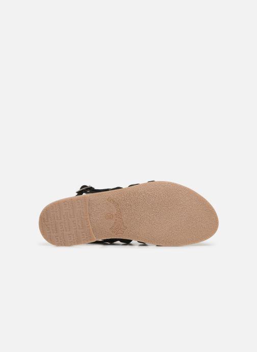 Sandales et nu-pieds Les Tropéziennes par M Belarbi Herilo Noir vue haut