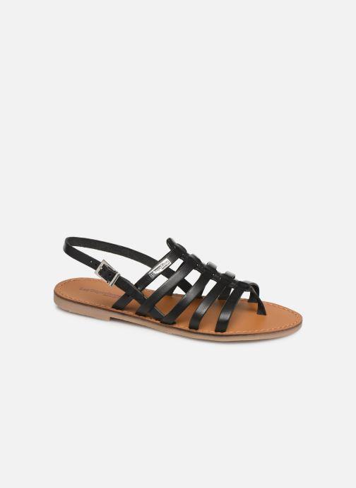 Sandales et nu-pieds Les Tropéziennes par M Belarbi Herilo Noir vue détail/paire