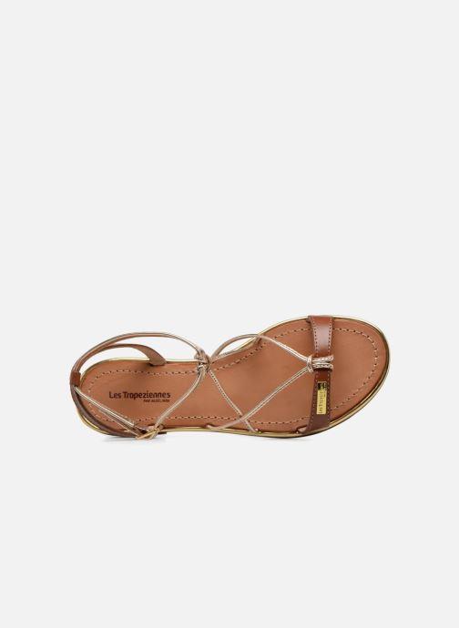 Sandales et nu-pieds Les Tropéziennes par M Belarbi Hirondel Marron vue gauche