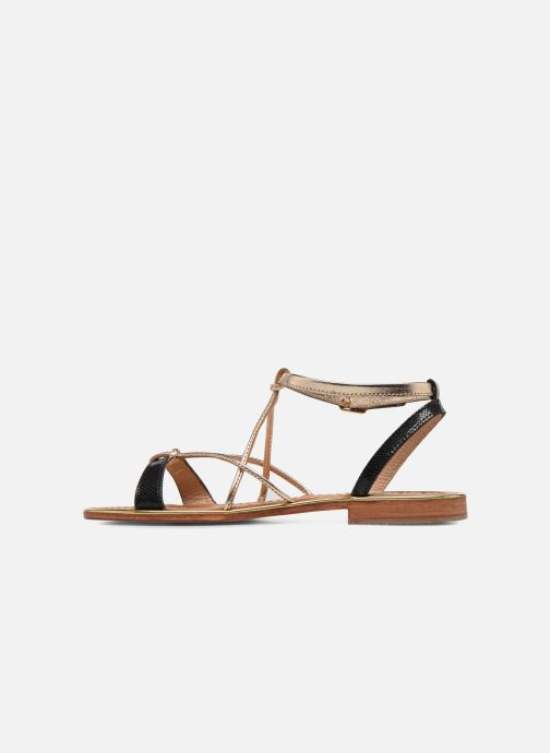 Sandales et nu-pieds Les Tropéziennes par M Belarbi Hirondel Noir vue face
