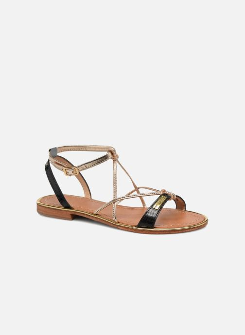 Sandales et nu-pieds Les Tropéziennes par M Belarbi Hirondel Noir vue détail/paire