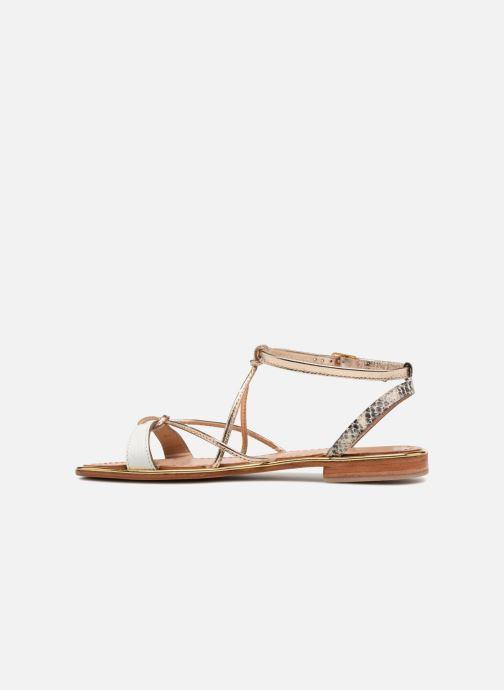 Sandales et nu-pieds Les Tropéziennes par M Belarbi Hirondel Or et bronze vue face