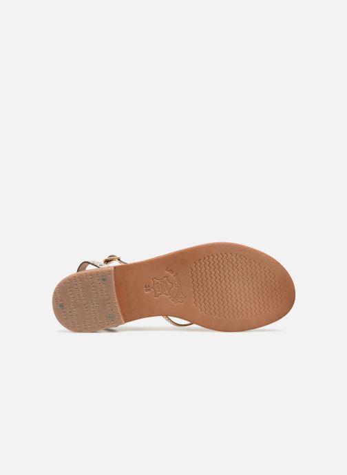 Sandali e scarpe aperte Les Tropéziennes par M Belarbi Hirondel Oro e bronzo immagine dall'alto