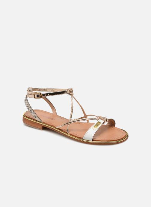 Sandales et nu-pieds Les Tropéziennes par M Belarbi Hirondel Or et bronze vue détail/paire
