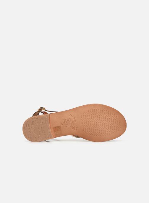 Sandales et nu-pieds Les Tropéziennes par M Belarbi Hirondel Multicolore vue haut