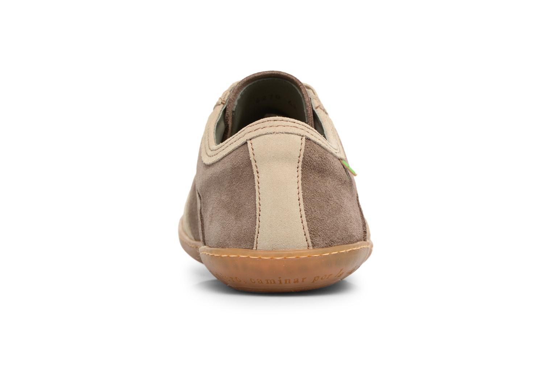 Sneakers El Naturalista El Viajero N5278 Marrone immagine destra