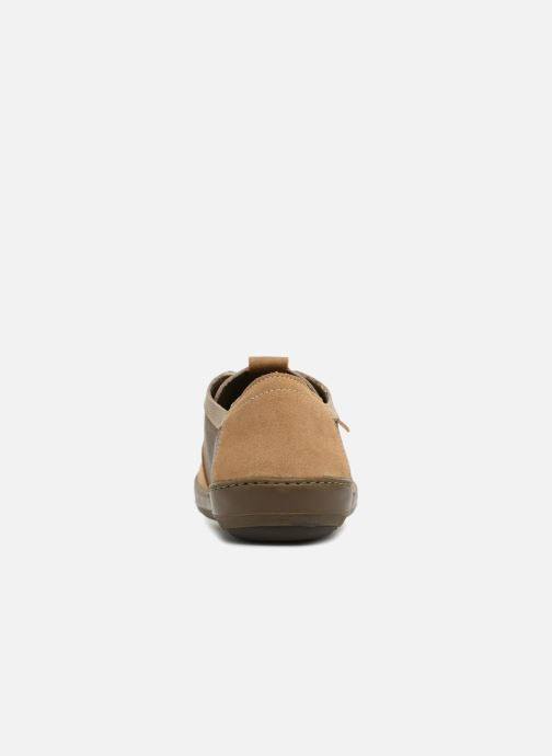 Trainers El Naturalista Meteo NF94 Beige view from the right