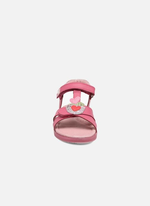 Sandales et nu-pieds Agatha Ruiz de la Prada Aitana Rose vue portées chaussures