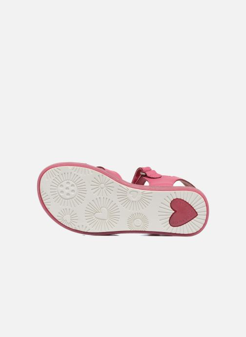 Sandales et nu-pieds Agatha Ruiz de la Prada Aitana Rose vue haut