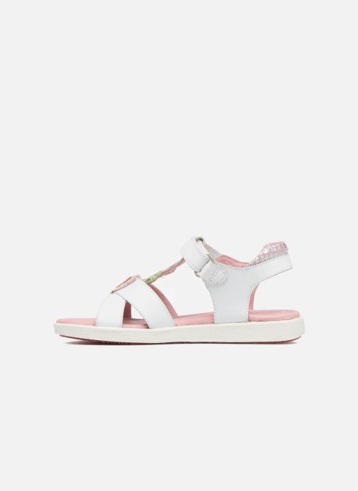 Sandales et nu-pieds Agatha Ruiz de la Prada Aitana Blanc vue face