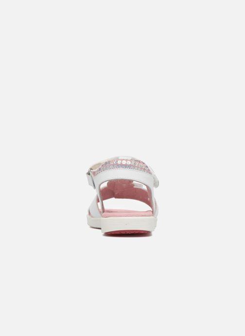 Sandales et nu-pieds Agatha Ruiz de la Prada Aitana Blanc vue droite