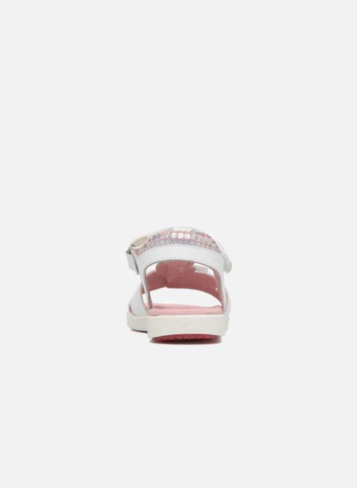 Sandals Agatha Ruiz de la Prada Aitana White view from the right