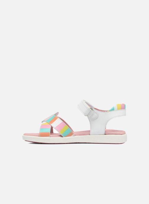 Sandals Agatha Ruiz de la Prada Aitana 2 White front view