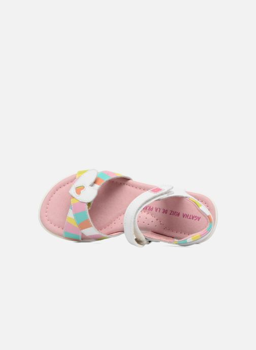 Sandales et nu-pieds Agatha Ruiz de la Prada Aitana 2 Blanc vue gauche