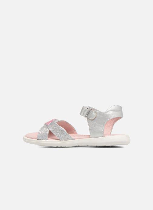 Sandales et nu-pieds Agatha Ruiz de la Prada Beauty 2 Argent vue face