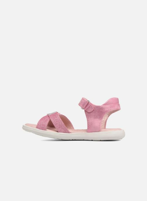 Sandales et nu-pieds Agatha Ruiz de la Prada Beauty 2 Rose vue face