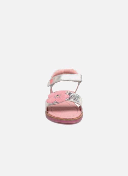 Sandales et nu-pieds Agatha Ruiz de la Prada Miss Ponza 3 Argent vue portées chaussures
