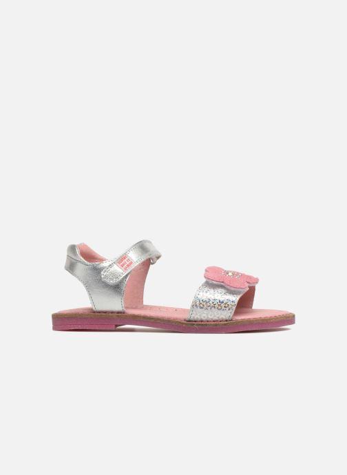 Sandals Agatha Ruiz de la Prada Miss Ponza 3 Silver back view