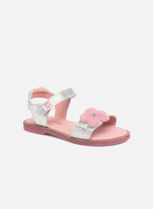 Sandales et nu-pieds Agatha Ruiz de la Prada Miss Ponza 3 Argent vue détail/paire