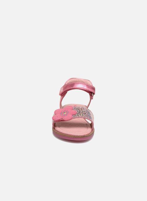 Sandales et nu-pieds Agatha Ruiz de la Prada Miss Ponza 3 Rose vue portées chaussures