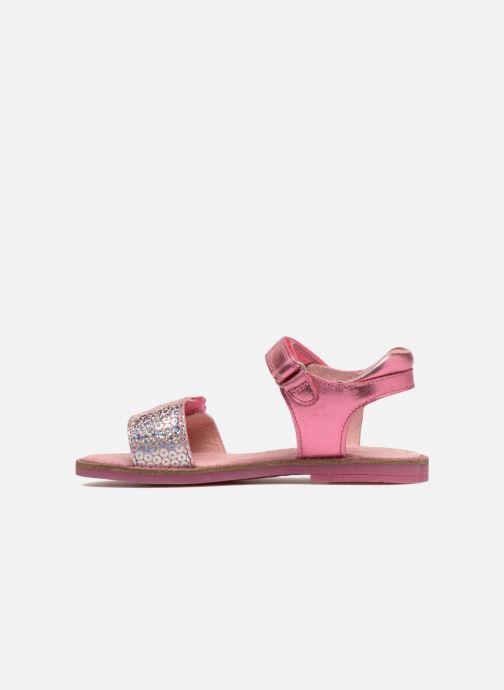 Sandals Agatha Ruiz de la Prada Miss Ponza 3 Pink front view