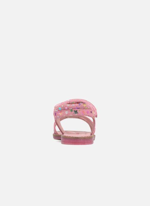 Sandals Agatha Ruiz de la Prada Miss Ponza 4 Pink view from the right
