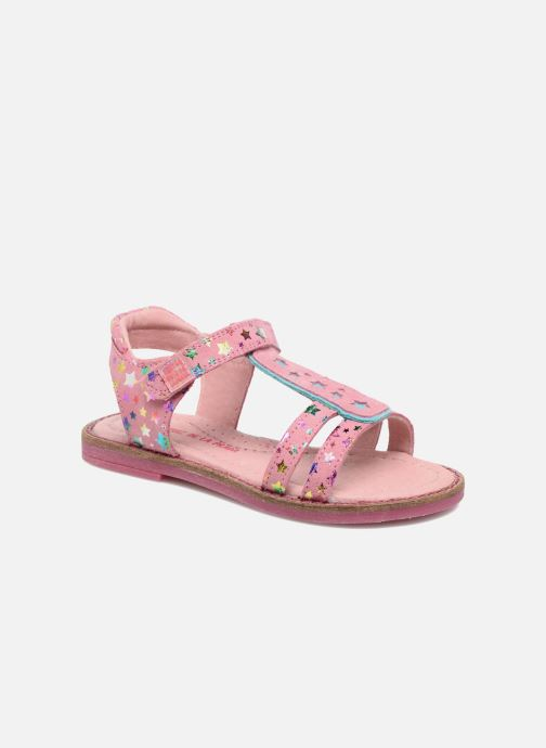 Sandals Agatha Ruiz de la Prada Miss Ponza 4 Pink detailed view/ Pair view