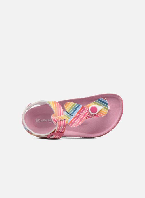 Sandales et nu-pieds Agatha Ruiz de la Prada Bio Agatha 4 Multicolore vue gauche