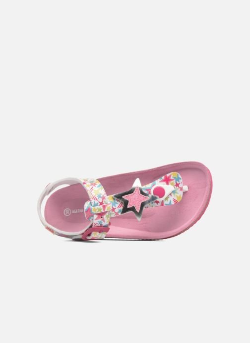 Sandals Agatha Ruiz de la Prada Bio Agatha 4 Multicolor view from the left