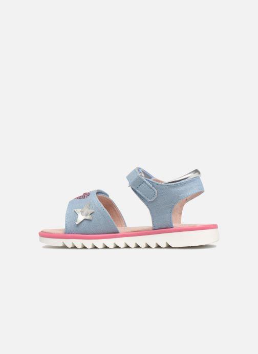 Sandales et nu-pieds Agatha Ruiz de la Prada Smile Bleu vue face