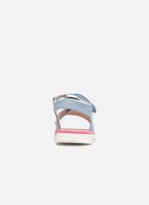 Sandales et nu-pieds Agatha Ruiz de la Prada Smile Bleu vue droite