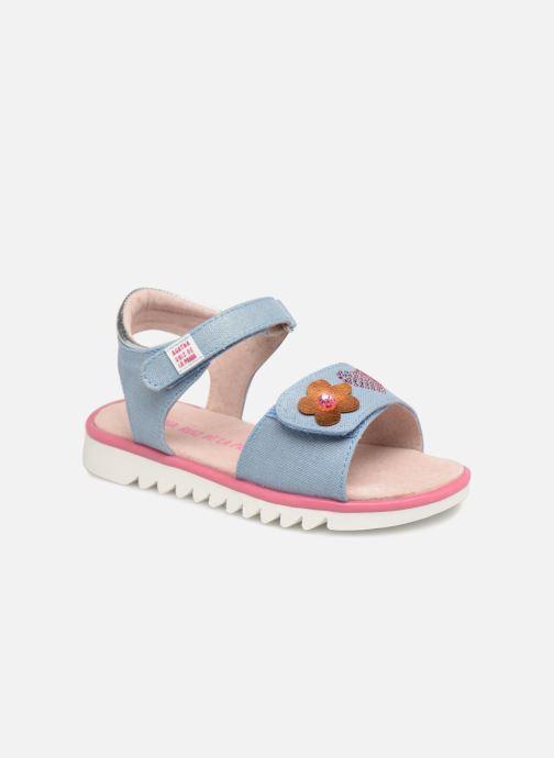 Sandales et nu-pieds Agatha Ruiz de la Prada Smile Bleu vue détail/paire