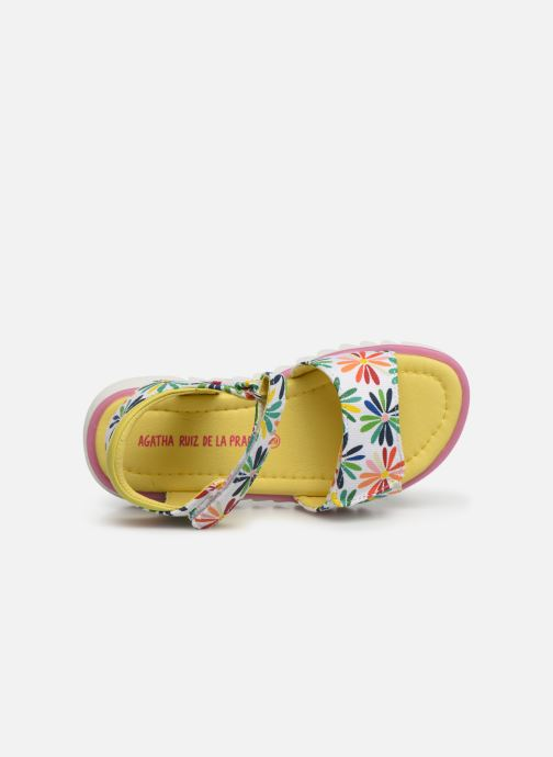 Sandales et nu-pieds Agatha Ruiz de la Prada Smile Multicolore vue gauche