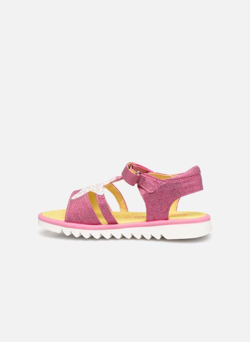 Sandali e scarpe aperte Agatha Ruiz de la Prada Smile Rosa immagine frontale